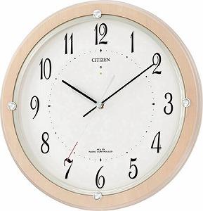ソーラー電波掛時計 サイレントソーラーM798 4MY798-007