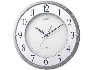 3電波対応電波掛時計 スリーウェイブM823 4MY823-003
