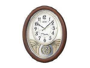 【SEIKO CLOCK】セイコー SEIKO からくり時計 電波時計 掛け時計 AM257B