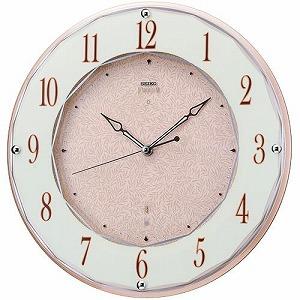 【SEIKO CLOCK EMBLEM】セイコー エムブレム エレガント スワロフスキー 電波掛時計 HS524A【送料無料】