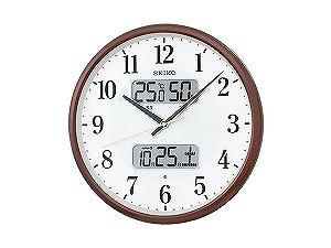 【SEIKO CLOCK】セイコー SEIKO 電波時計 掛け時計 KX383B