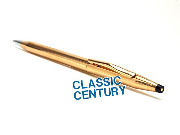 【CROSS】クロス CENTURY CLASSICCENTURY センチュリー クラシックセンチュリー ボールペン 油性 14金張 CROSS1502 【メール便可能】【メール便の場合商品ボックス付属なし】