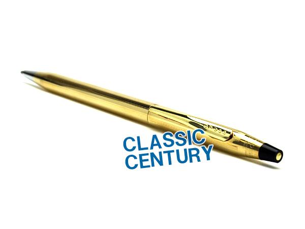 【CROSS】クロス CENTURY CLASSICCENTURY センチュリー クラシックセンチュリー ボールペン 油性 10金張 CROSS4502 【メール便可能】【メール便の場合商品ボックス付属なし】