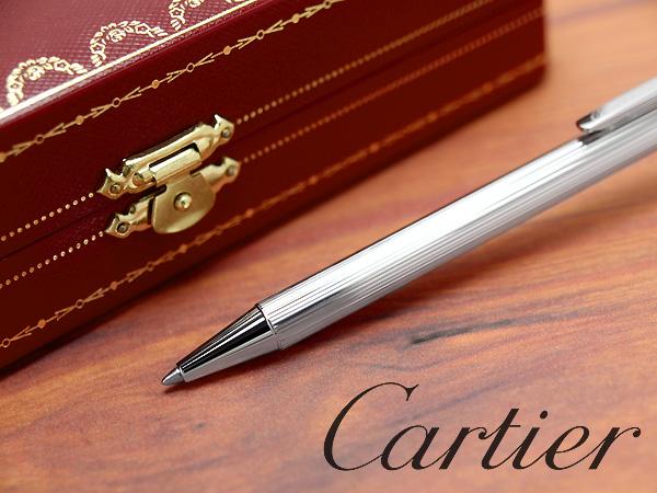 Cartier Trinity Resille Decor Ball Pen