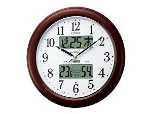 電波掛時計 インフォームナビEX 4FY620-006