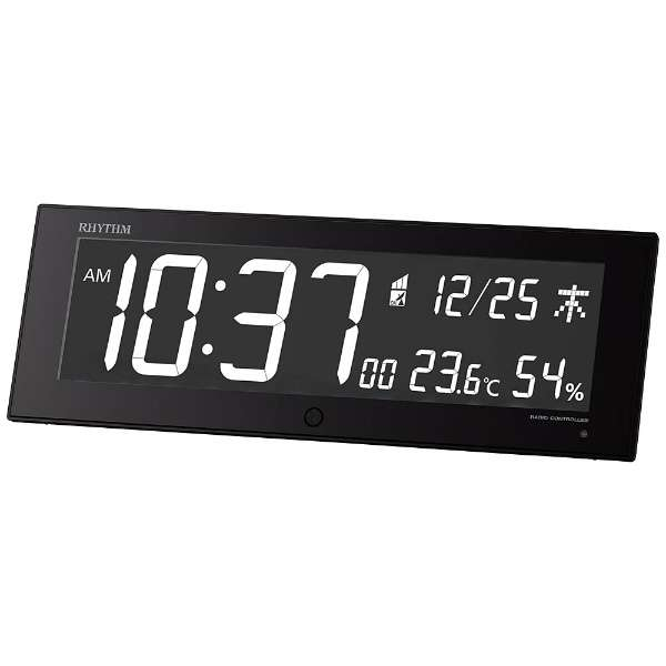 【RHYTHM】リズム時計 Iroria G 電波時計 8RZ184SR02 電波時計 G デジタル 交流電源 掛置兼用時計 温湿度計 8RZ184SR02, たこ焼割烹たこ昌:8860e74d --- campusformateur.fr