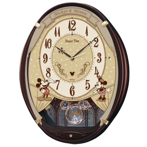 【SEIKO CLOCK】セイコークロック ミッキー&フレンズ 電波時計 掛け時計 アナログ FW579B