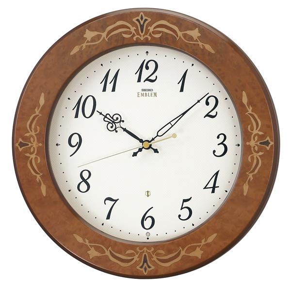【セイコークロック EMBLEM】セイコークロック スタンダード エンブレム 電波掛け時計 アナログ HS557B