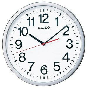 セイコー SEIKO 掛け時計 KX229S シルバーメタリック
