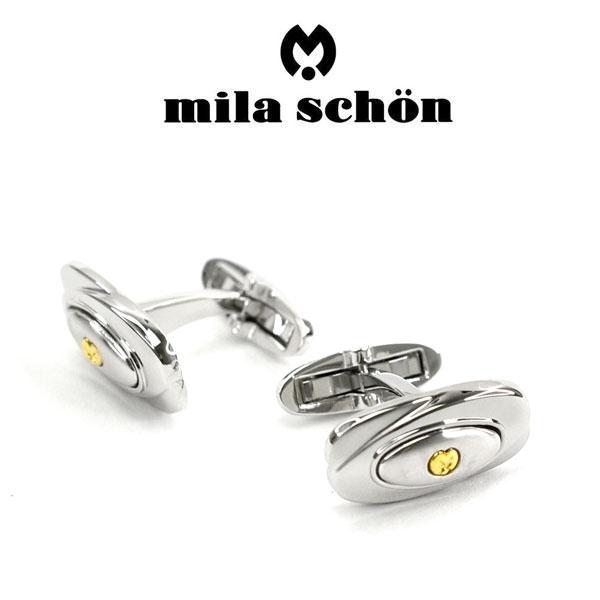 【mila schon】ミラショーン カフス 専用ボックス付き シルバー925 MSC20322