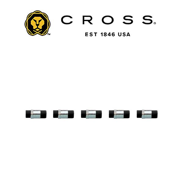 クロス ペンシル替え消しゴム ルースタイプ 0.5mm 訳あり商品 0.9mm テックフォー用 5個入り 消耗品 メール便可能 高い素材 CROSS8753 CROSS