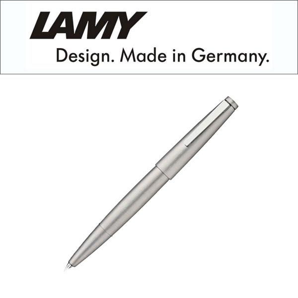 【LAMY】ラミー Lamy2000 ラミー2000 プリミエステンレス 万年筆 吸入式 ペン先EF~B シルバー L02 【メール便可能】【メール便の場合商品ボックス付属なし】