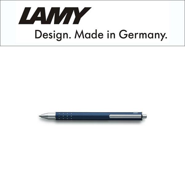 【LAMY】ラミー swift スイフト ローラーボール ボールペン 水性 キャップレス インペリアルブルー L334IB 【メール便可能】【メール便の場合商品ボックス付属なし】
