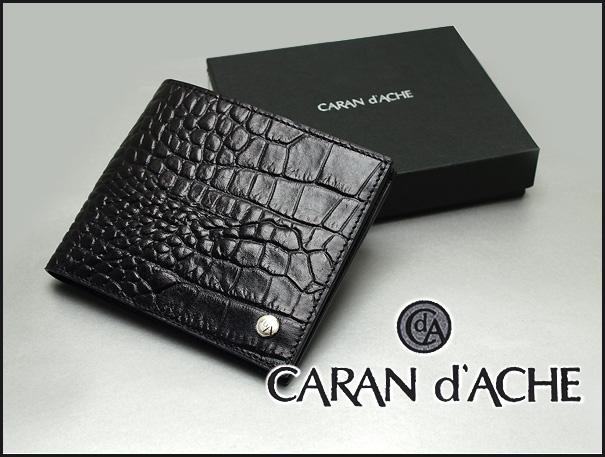 卡 d ' 疼痛 Karan 短跑两个钱夹 (电子钱包无) 钱包男装黑色 N6410-009
