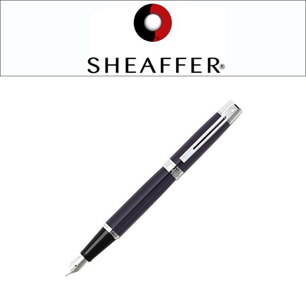 【SHEAFFER】シェーファー sheaffer300 シェーファー300 万年筆 スチールペン先 ペン先F~M グロスブルー SGC9328PN 【メール便可能】【メール便の場合商品ボックス付属なし】