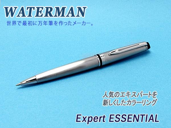 【WATERMAN】ウォーターマン EXPERT エキスパート エッセンシャル ボールペン 油性 メタリックCT WM-EXPRTES-BP-MECT 【メール便可能】【メール便の場合商品ボックス付属なし】【天冠に仕様変更あり】