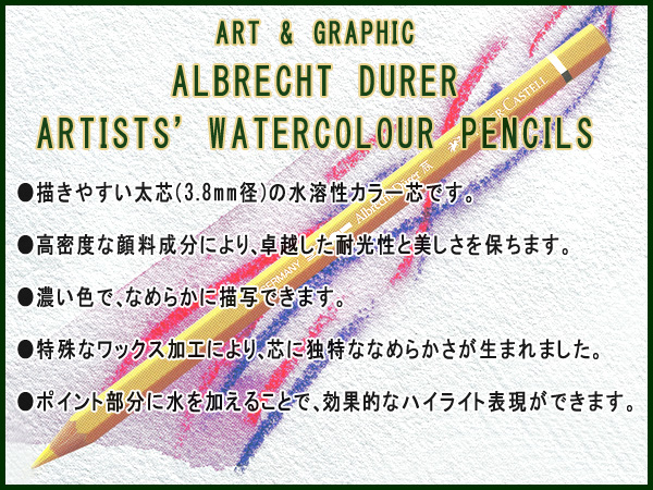 含ファーバーカステル彩色铅笔彩色粉笔艺术&图像收集250周年纪念完成安排木盒的110050 fs04gm