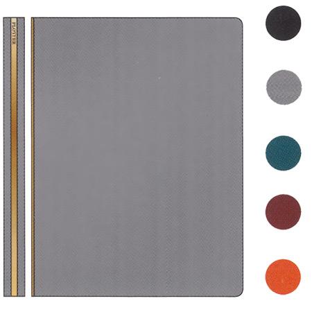 送料無料【PLOTTER シュリンク システム手帳 A5サイズ リング径:11mm】高級革を使用したシステム手帳[Knox]