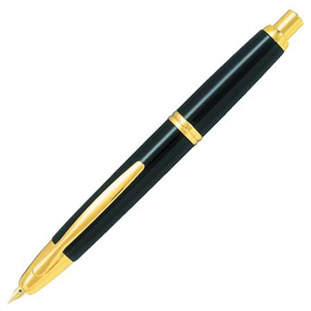 送料無料【キャップレス ブラック FC-15SR-B】本格派のノック式万年筆 [PILOT]