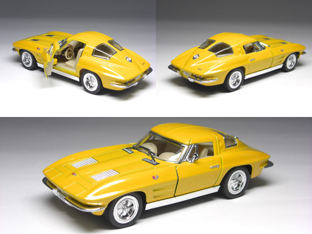 Chevrolet Corvette Stingray (1963-) 1 / 36 size GM Chevrolet Corvette Sting  Ray candy car