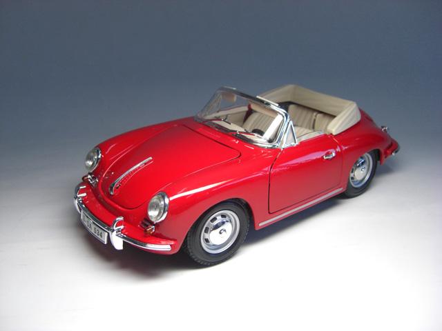 ポルシェ 356B カブリオレ (1961) 1/18 サイズ【 インテリアカー ・世界の名車シリーズ】 Porsche 356B (T5) Cabriolet