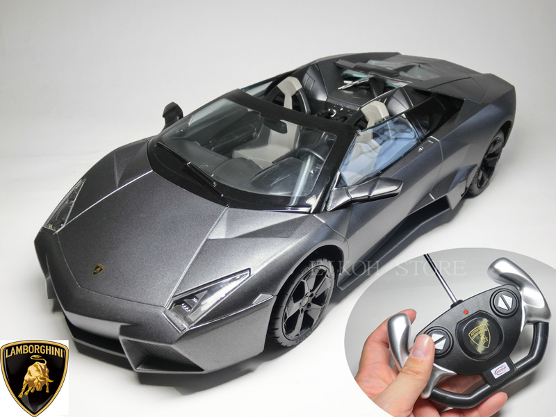 RC Lamborghini Reventon Roadster RC Model 1 / 14 Size Official Licensed  Products Now Play With A Battery! ( 5 AA Batteries And 9V Batteries 1 ) ...