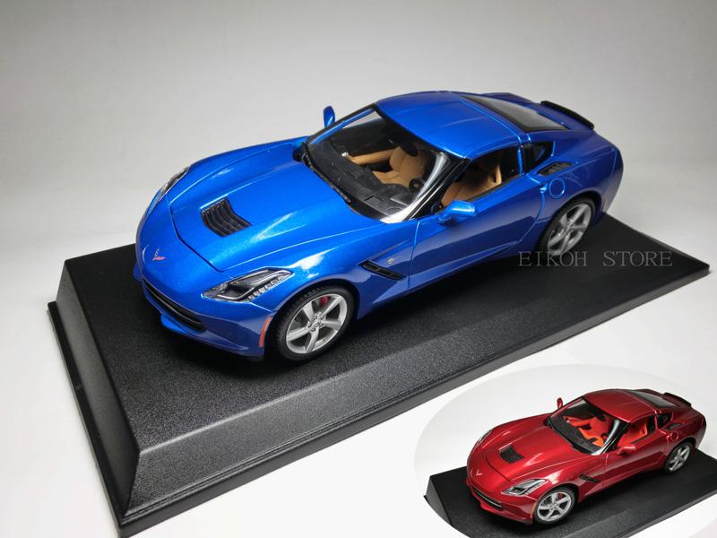 シボレー コルベット スティングレイ 7代目 C7型(2014) 1/18 サイズ【 インテリアカー ・世界の名車シリーズ】 GM Chevrolet Corvette Sting Ray アメ車