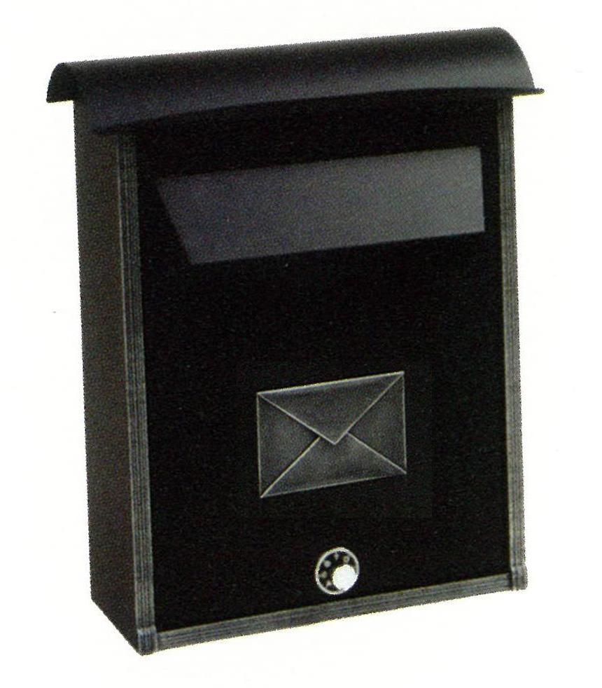 モダンな郵便ポスト メールボックス314-t-keyダイヤルロック付