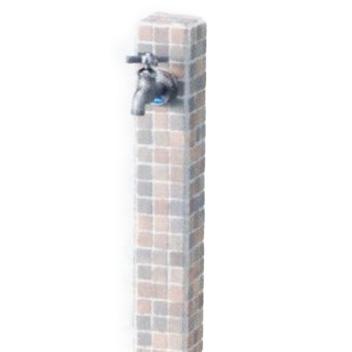 立水栓ユニット モゼック グレーミックス(ST) 立水栓ユニット ※送料無料 代引交換不可※