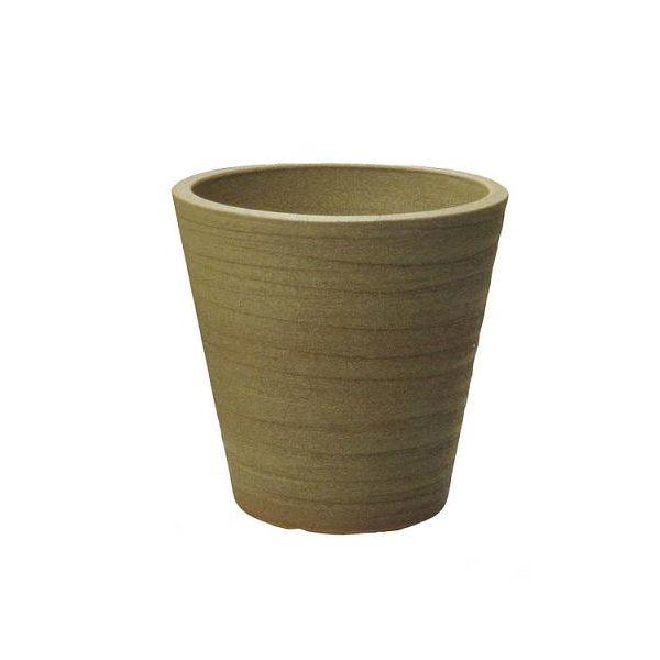 シェーブプランター10号用 植木鉢 信楽焼・プラスガーデン