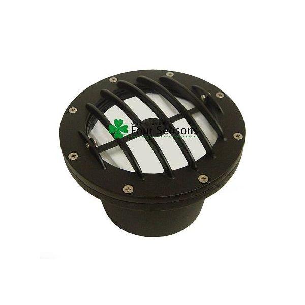 マリブライトは正規輸入 販売店の当店におまかせ DIYで照らしたいところに配線 設置できます 堅牢な印象の拡散型地面埋め込み型ライト ガレージ周辺などにも ハロゲン35W CL501 埋込ライト セール品 ガーデンライト マリブライト 8301-9500-01 新色