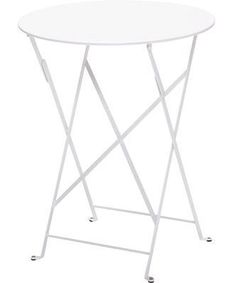 ビストロテーブル60/01W カラー:ホワイト ガーデンファニチャー フェルモブ Bistro ビストロ
