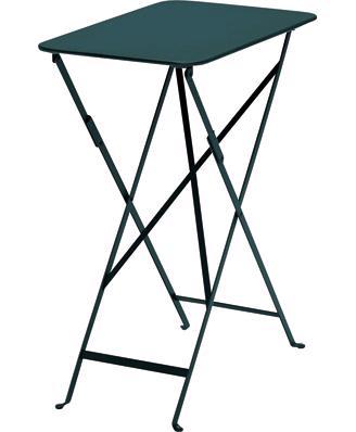 ビストロテーブル37×57 カラー:ダークグリーン ガーデンファニチャー フェルモブ Bistro ビストロ