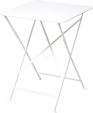 ビストロテーブル57角 カラー:ホワイト ガーデンファニチャー フェルモブ Bistro ビストロ