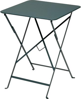 ビストロテーブル57角 カラー:ダークグリーン ガーデンファニチャー フェルモブ Bistro ビストロ