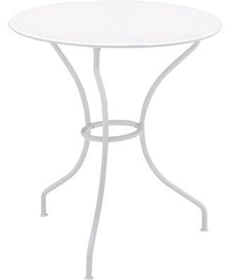 オペラテーブルΦ67cm カラー:ホワイト ガーデンファニチャー フェルモブ Bistro ビストロ