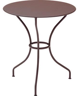 オペラテーブルΦ67cm カラー:ブラウン ガーデンファニチャー フェルモブ Bistro ビストロ