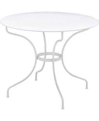 オペラテーブルΦ96cm カラー:ホワイト ガーデンファニチャー フェルモブ Bistro ビストロ