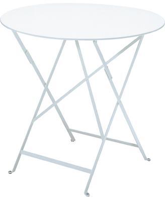 ビストロテーブルΦ77cm カラー:ホワイト ガーデンファニチャー フェルモブ Bistro ビストロ