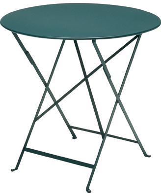 ビストロテーブルΦ77cm カラー:ダークグリーン ガーデンファニチャー フェルモブ Bistro ビストロ