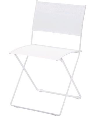 プレインエアチェア カラー:ホワイト ガーデンファニチャー フェルモブ Bistro ビストロ