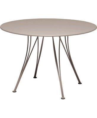 FERMOB【フェルモブ】ランデブテーブル直径110cm-14ナツメグ折りたたみ可能 ランデブテーブルΦ110cm 14ナツメグ ガーデンファニチャー フェルモブ Bistro ビストロ