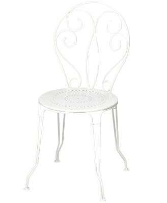 モンマルトルチェア カラー:ホワイト ガーデンファニチャー フェルモブ Bistro ビストロ