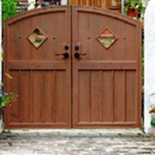 ファーム門扉 07-12 鍛造門柱仕様両開き ディーズガーデン ディーズゲート