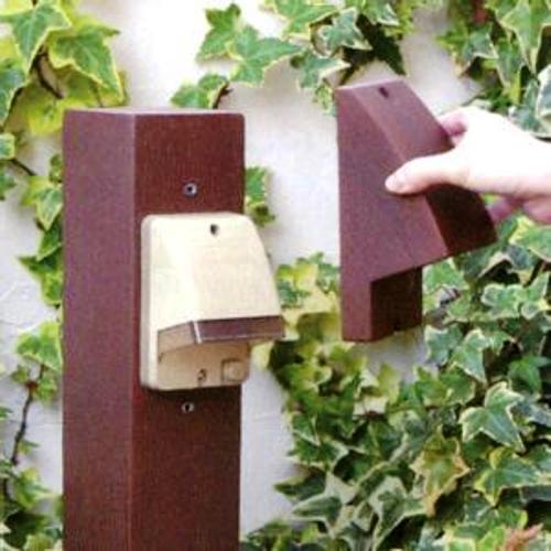 屋外用コンセントカバー コンセントティンバー ディーズガーデン ディーズデコ ガーデンアイテム