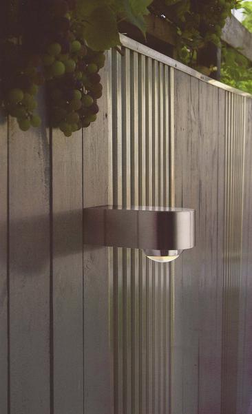 壁面ライト LED1.5W Fish Eye WALL LED RVS(アンバー色) ガーデンライト インライト