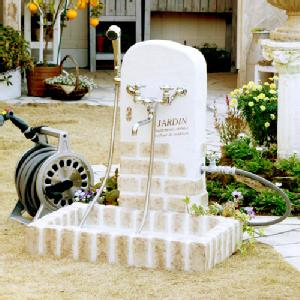 【立水栓・水栓・鉢】シャワープレイスレトロブリック※送料無料 代引交換不可※