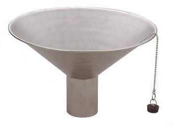 立水栓・水栓・蛇口シリーズ ステンレス中鉢 ヘアライン