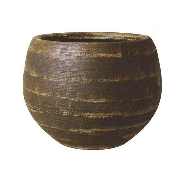 ストラトスミドル 10号用 植木鉢 信楽焼・プラスガーデン