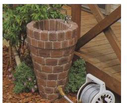 立水栓・水栓・蛇口シリーズ 立水栓ユニット トランスブラウン ※代引交換不可※